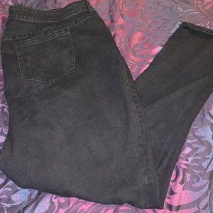Dark blue skinny jeans size 22